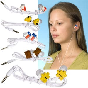 Earbuds made to any shape