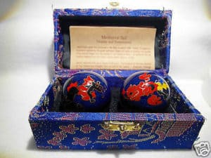 Chinese Health Balls relieve stress through targeting pressure points